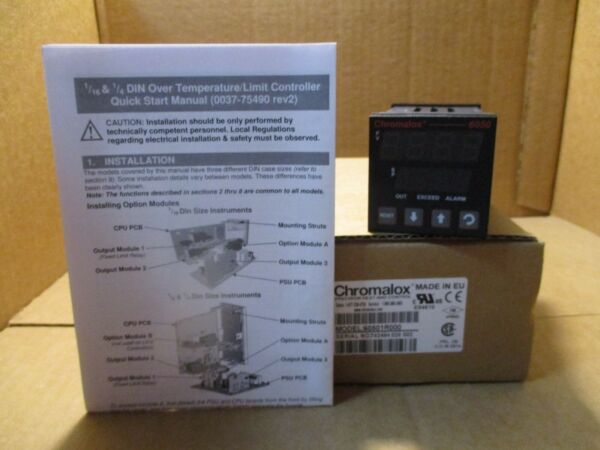 Chromalox DIN Over Temperature Limit Controller 605001R000 NEW $199.99