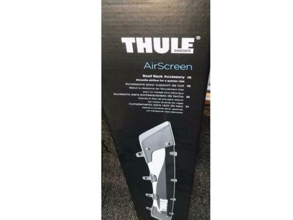 THULE Airscreen Fairing 44quot; #8702 Redirects Airflow Over Roof Rack Quieter Ride $129.99