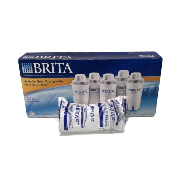 6 Brita Pitcher Replacement Water Filters Model OB03 6 Filters