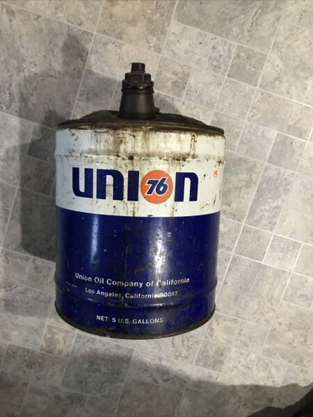 VINTAGE Union 76 5 Gallon Gas Can COOL $49.99