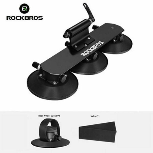 ROCKBROS Sucker Bike Rack for Car Roof Bicycle Carrier QR Aluminium Alloy Roof $139.99