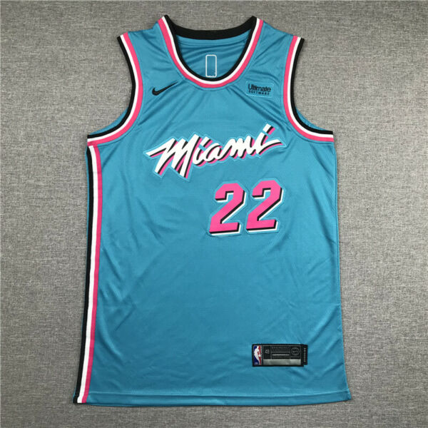 Miami Heat Jimmy Butler 22# VICE CITY Men#x27;s Jersey Collection $34.99
