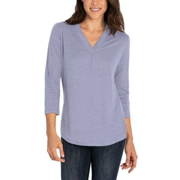 NWT ORVIS LINEN BLEND TOP MORE COLOR SIZE AG0