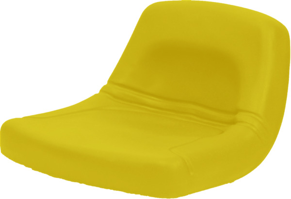 Low Back John Deere Lawn Mower Garden Tractor Seat Yellow