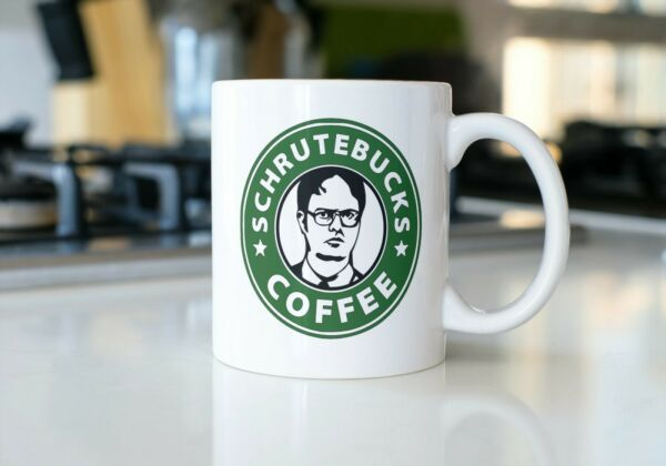 Dwight Schrute Coffee Mug 11oz. The Office Dunder Mifflin Funny Gift