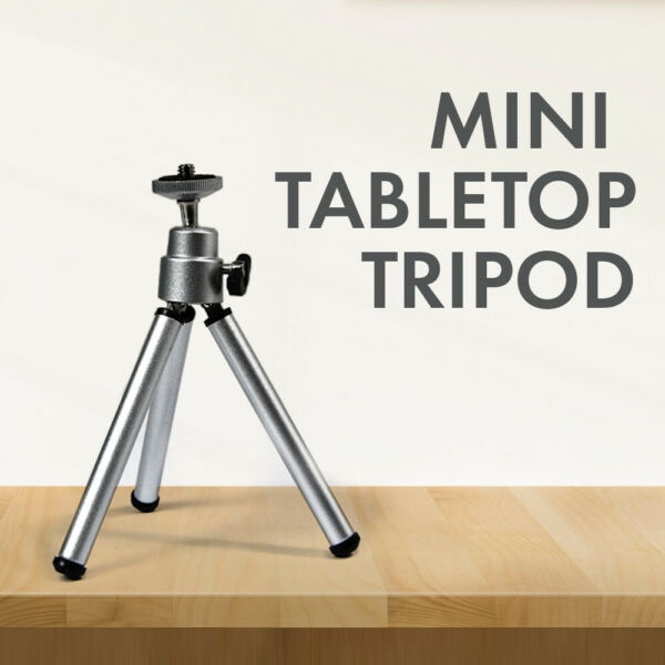 6 inch Mini Travel Tripod for Photo Digital Camera Camcorder