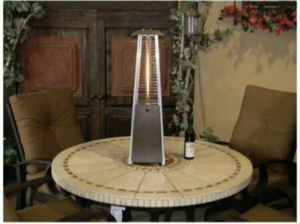 Hiland HLDS032 Pyramid Patio Propane Heater Portable 9500 BTU ✅FAST SHIPPING✅