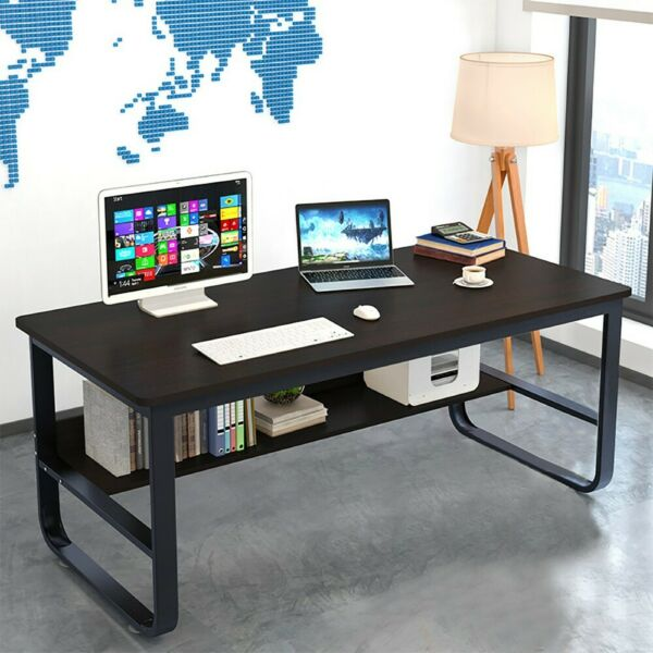 55quot; Wood Computer Desk PC Laptop Study Table Workstation Home Office Furniture $110.99