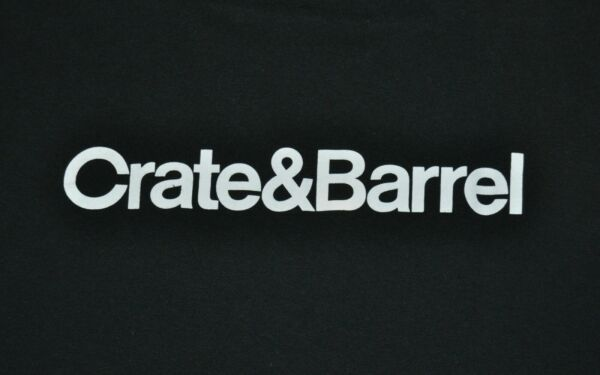 t shirt large crate and barrel home furnishings 22 inches pit to pit