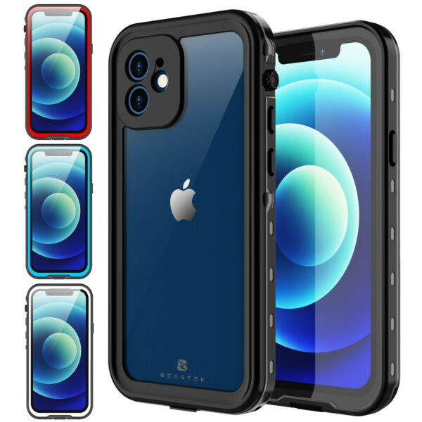 For Apple iPhone 12 12 Pro Case Waterproof Shockproof with Screen Protector 6.1 $17.98