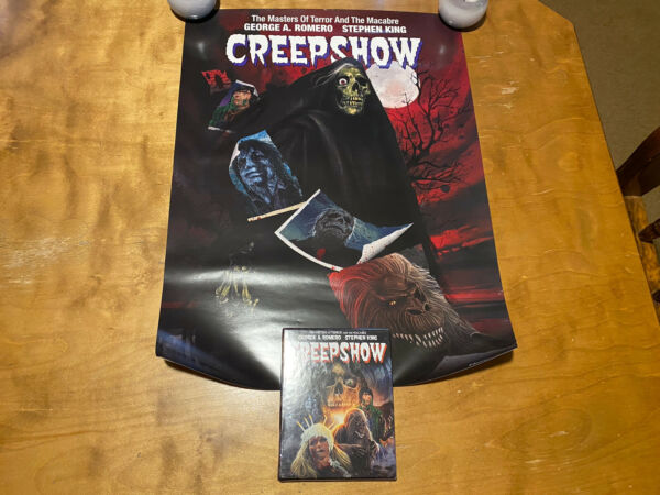 Creepshow Blu ray*Scream Factory*Collector#x27;s Ed*Slipcover amp; 2 Posters*Sealed NEW $78.00