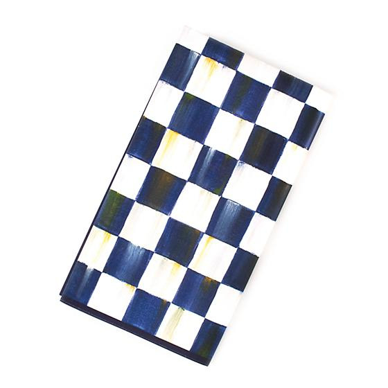 MacKenzie Childs Royal Check Paper Napkins Guest