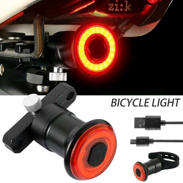 Bike Light Set Super Bright USB Rechargeable Bicycle Lights Waterproof IPX6 $14.99