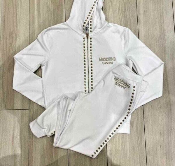 MOSCHINO TRACKSUIT WOMENS SWEATPANTS SPORT STYLE WOMENS CLOTHING $299.00
