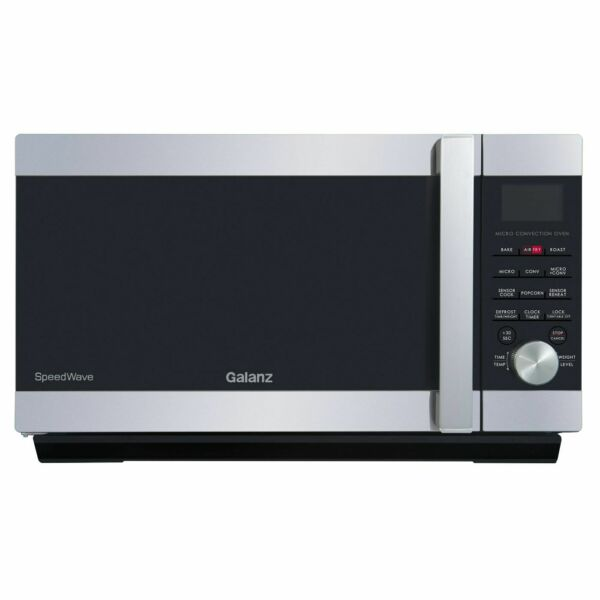 New Galanz 3 in 1 Microwave Oven with Air Fry Convection Combi Speed 1000W