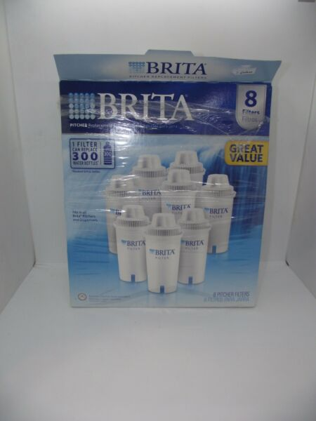 Brita Pitcher Replacement Water Filters Includes 7 Filters NEW