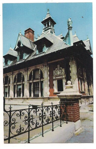 Old Federal Building Post Office Customs Hous CLARKSVILLE Tennessee Postcard TN