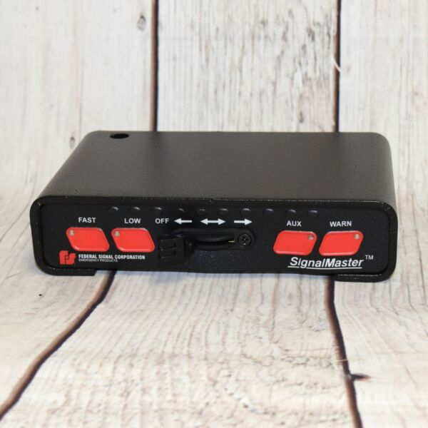 FEDERAL SIGNAL 331105 SB SIGNALMASTER LIGHT BAR CONTROLLER FREE SHIPPING
