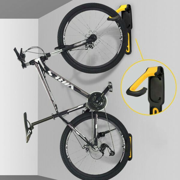 Bike Shop Wall Mounted Display Hook Holder Garage Bike Storage Rack Bracket $20.70