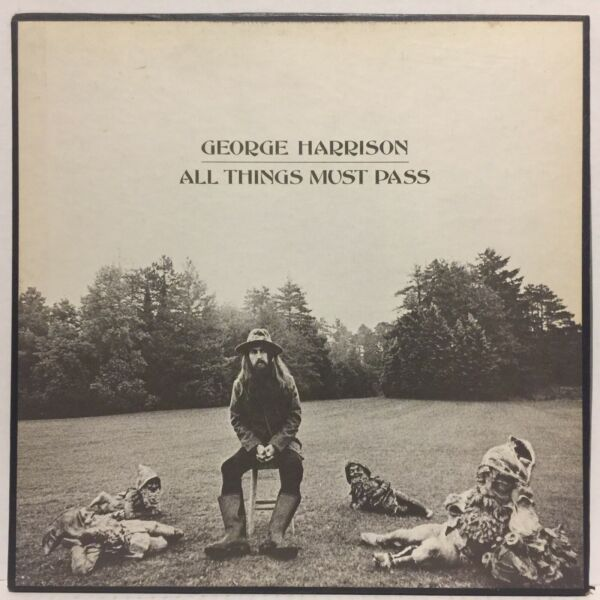 George Harrison All Things Must Pass EX 3LP Capitol BOX Beatles AWESOME