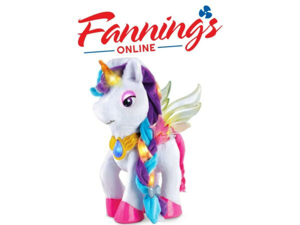 Open box VTech Myla the Magical Unicorn Interactive Electronic Pet for Kids $37.95