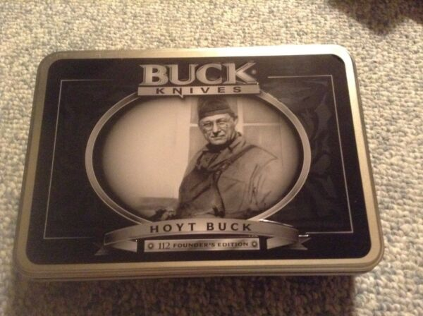 Buck lockback knife quot;Founders Editionquot;