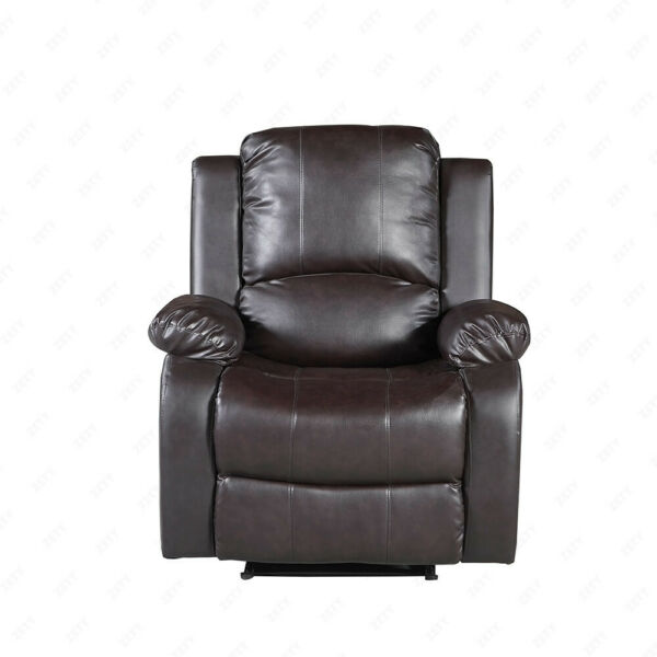 Mecor Single Sofa Recliner Chair Bonded Leather for Home Furniture Brown $229.99