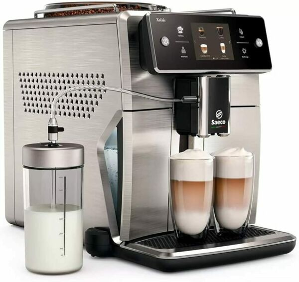 Saeco Xelsis Super Automatic Espresso Machine Stainless Steel SM7685 $1329.99