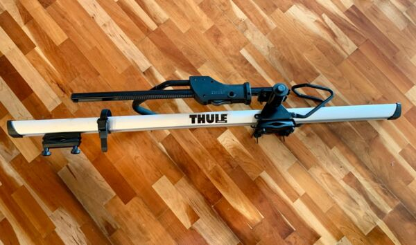 THULE 594XT Sidearm Upright Roof Top Bicycle Bike Carrier GREAT Condition $124.99