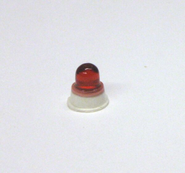 1:25 scale model resin Federal Beacon Ray 100 red police ambulance fire light