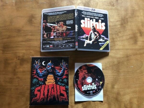 Slithis Blu ray*Code Red*Slipcover*2K Scan*70#x27;s Classic Horror*OOP*Very Rare* $34.00