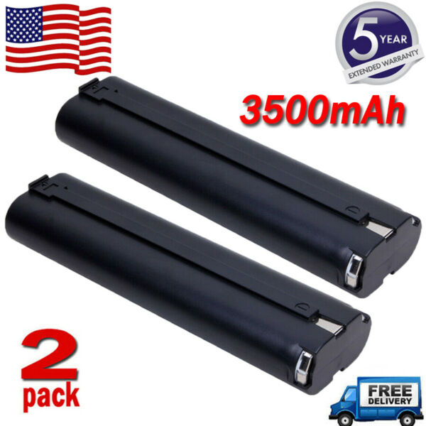 2X For MAKITA 9.6Volt Ni MH 3.5Ah 9000 9001 9033 632007 Stick Style Battery Tool $16.99