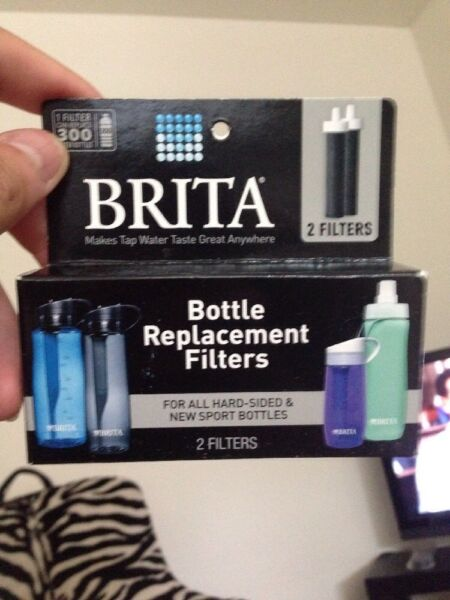BRITA Water Bottle Replacement Filters Hard Sided amp; Sport Bottle 2 Filters