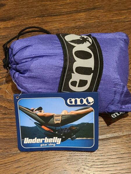 ENO Eagles Nest Outfitters Underbelly Gear Sling Hammock Accessory Purple $29.99