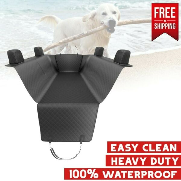Jeep Rear Seat Dog Cover Pet Large Back Waterproof Bench Protector Truck Suv $29.95