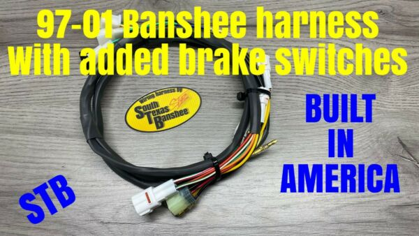 STB Yamaha Banshee wiring harness 97 01 with added brake light circuit $125.00