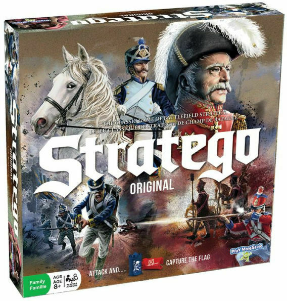 Stratego Original Game Revised Battlefield Strategy Game Expedited Shipping