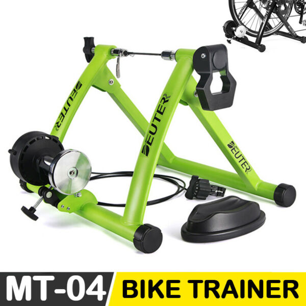 Magnetic Bike Bicycle Trainer Indoor Stationary Exercise Stand Steel Frame MTB $62.99
