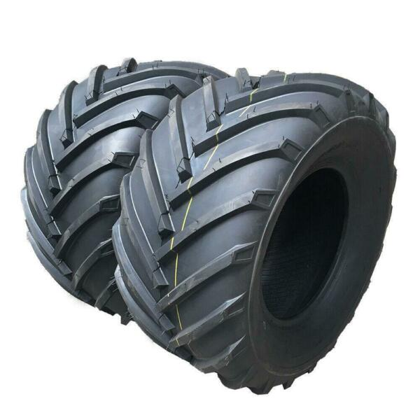 Set of 2 23X10.50 12 4ply New Garden Lawn Mowers Tires Tubeless