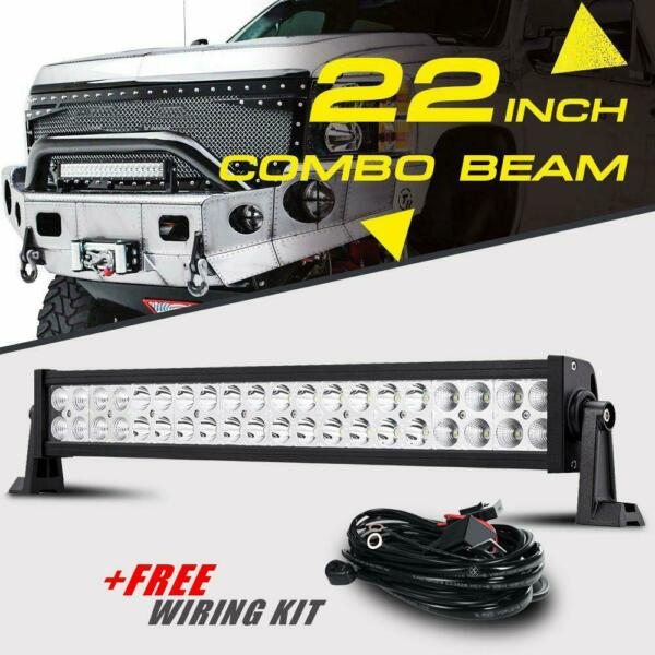 22quot; in 280W LED Light Bar Combo Spot Flood Driving For Jeep JK ATV Roof SUV Ford $42.90