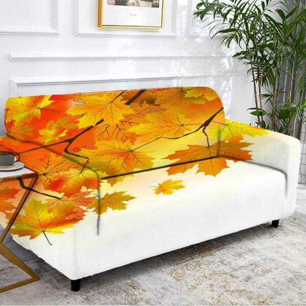 Leaf Development Stretch Sofa Cover Lounge Couch Slipcover Recliner Protector AU $43.11