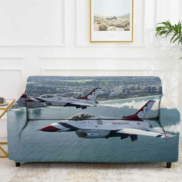Plane Dim Surprise Stretch Sofa Cover Lounge Couch Slipcover Recliner Protector AU $43.11