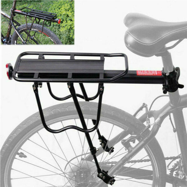 Bicycle Back Rear Rack Alloy Bike Cycle Seat Post Frame Carrier Holder for MTB $20.92
