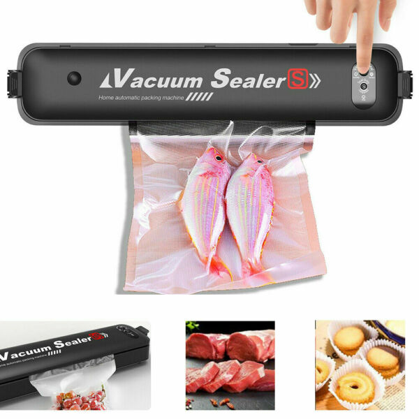 Vacuum Sealer Machine Automatic for Food Preservation with 10 Pcs Saver Bags $26.90