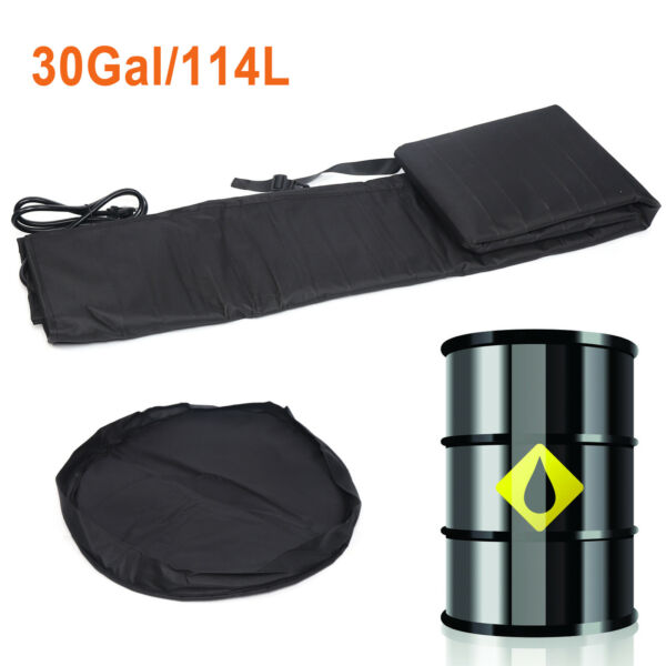 New High quality Drum Thermal Blanket Industrial Pail Heater 30 gallons 114L US $214.03