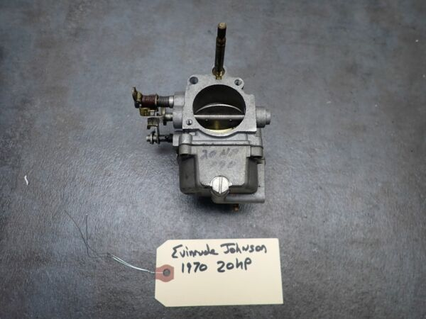 1970 Johnson Outboard 20 HP Carb Carburetor 384410 $100.00