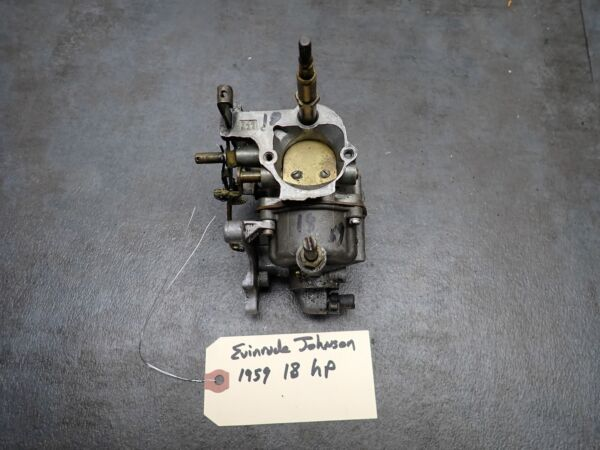 1959 Evinrude Johnson Outboard 18 HP Carb Carburetor $75.00