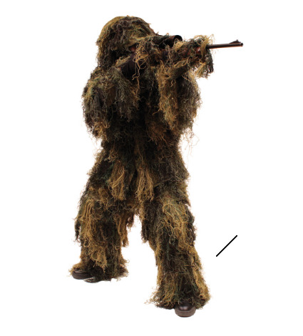 5 Piece Adult Ghillie Suit size Medium Large FREESHIPPING