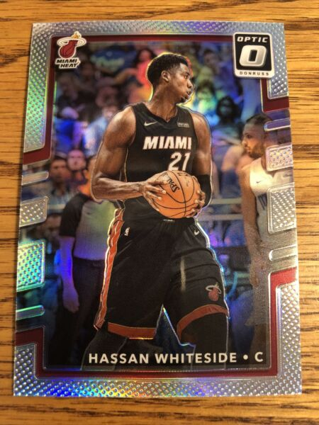 Hassan Whiteside 2017 18 Donruss Optic Holo Prizm Heat #80 *7019* $3.00