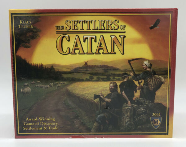 Settlers of Catan Board Game 2nd Edition 3061 Mayfair Authentic New Sealed